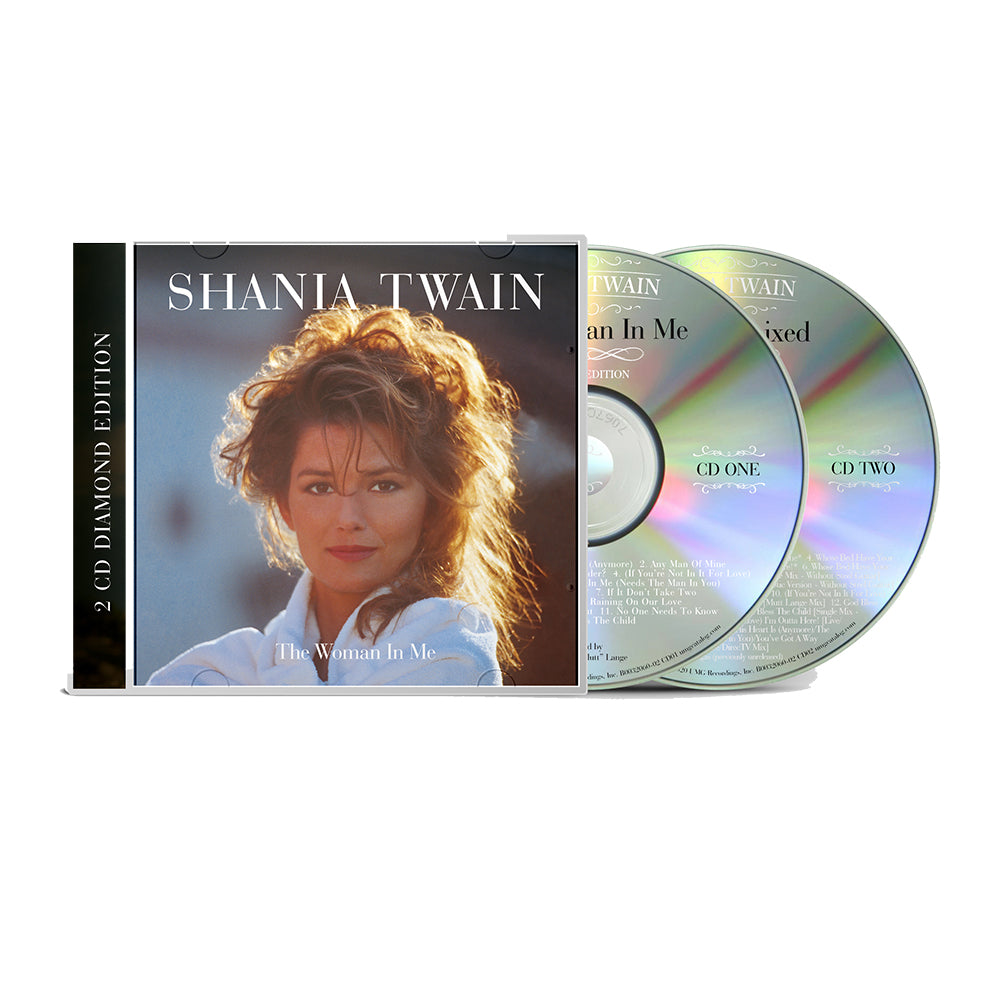 Shania Twain - The Woman in Me: Diamond Edition - 2 CD Set (Pre-Order)