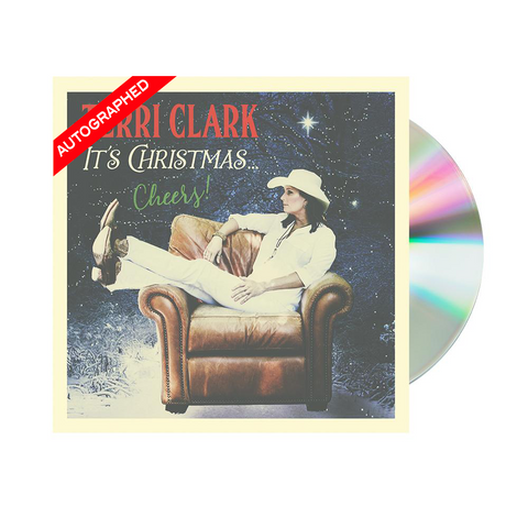 Terri Clark - It's Christmas...Cheers! (CD- Autographed)
