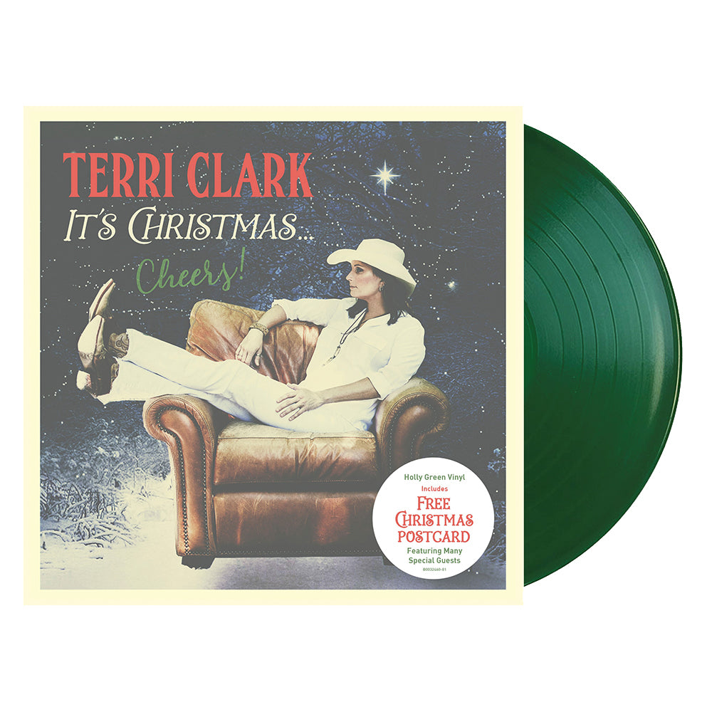 Terri Clark- Its Christmas...Cheers! (Vinyl-Green)