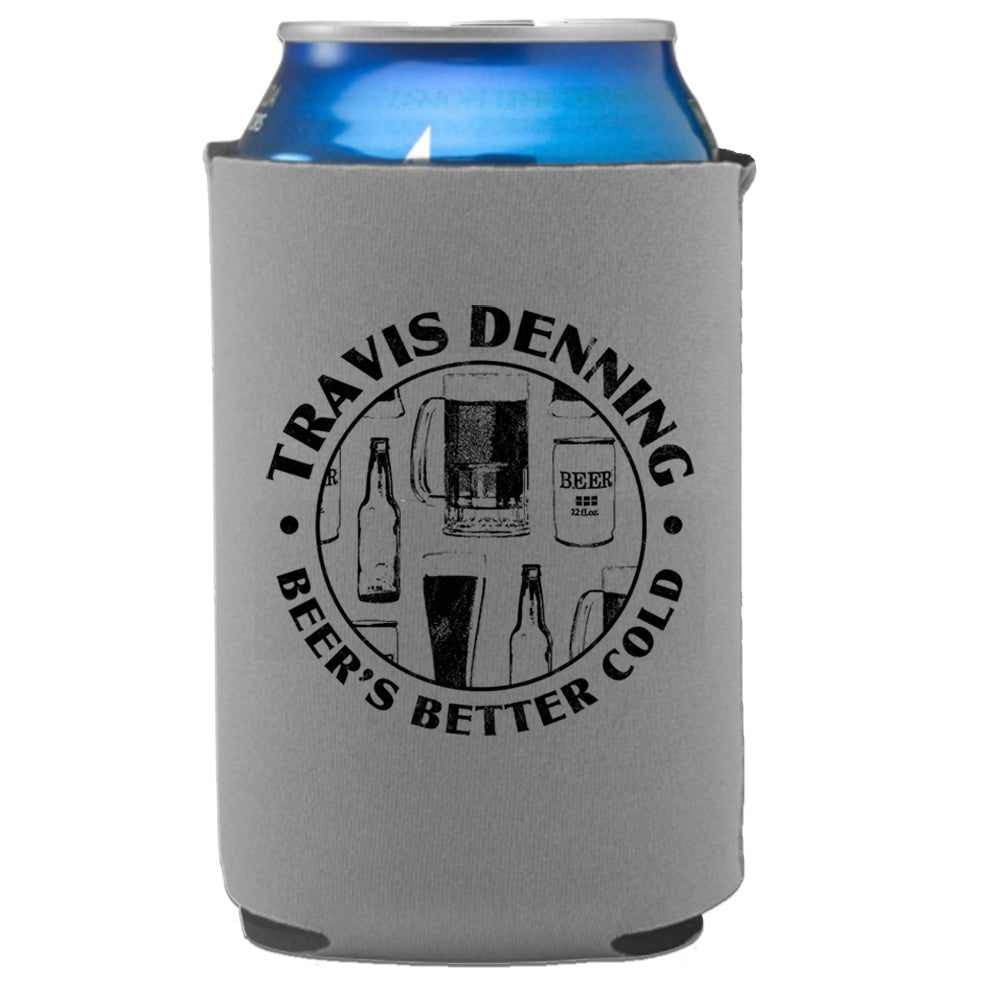 Travis Denning- Beer's Better Cold Can Insulator