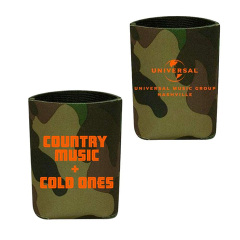 Country Music + Cold Ones Can Insulator