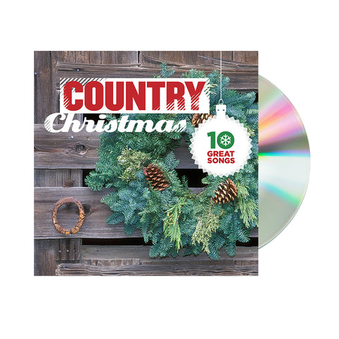 Various Artists - 10 Great Country Christmas Songs (CD)