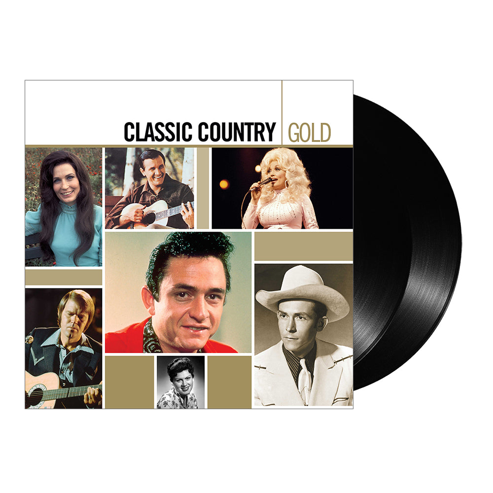 Various Artists - Classic Country Gold (Vinyl-2LP)