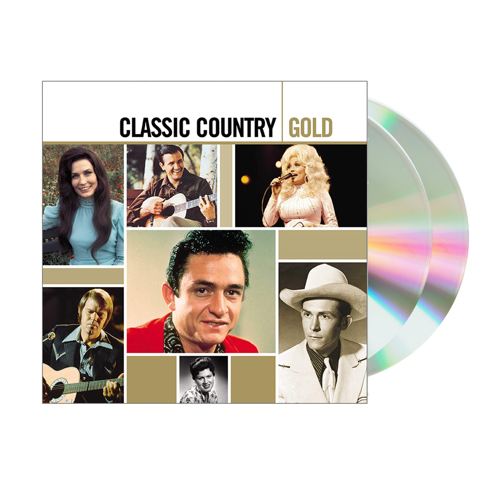 Various Artists - Classic Country Gold (2CD Set)