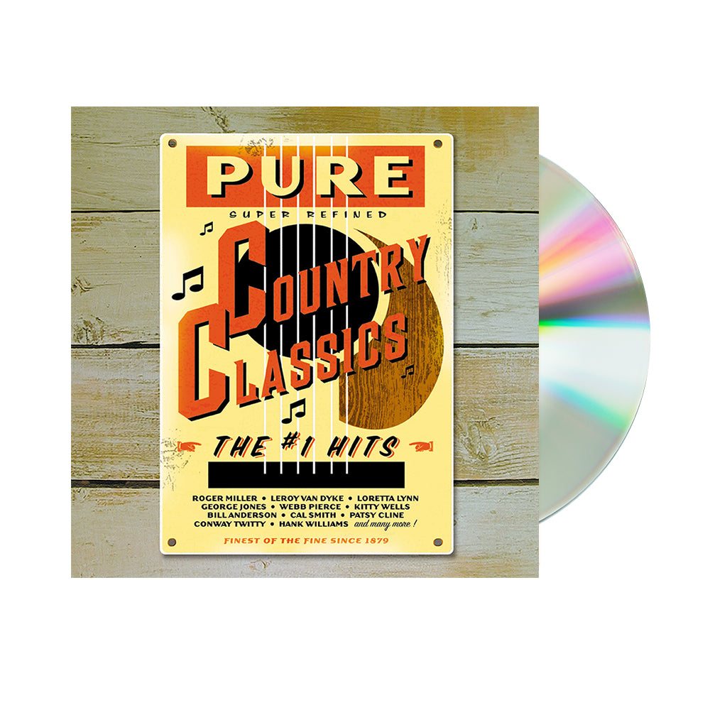 Various Artists - Pure Country Classics: The #1 Hits (CD)