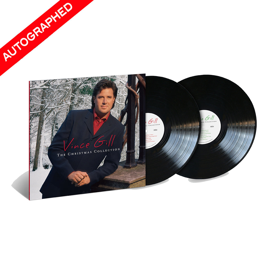 Vince Gill - The Christmas Collection (Vinyl-Autographed)