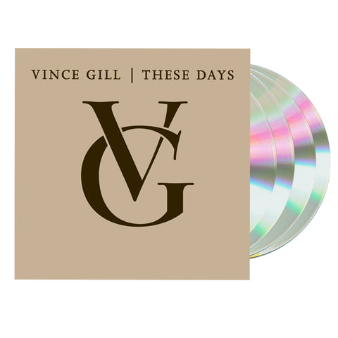 Vince Gill - These Days (4CD Boxset)