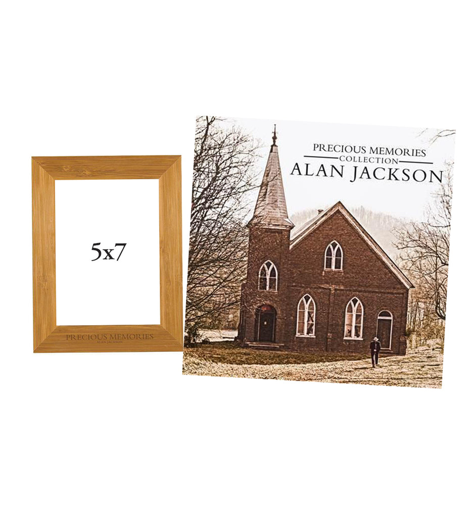 Alan Jackson - Precious Memories Bundle (CD+Wood Picture Frame)
