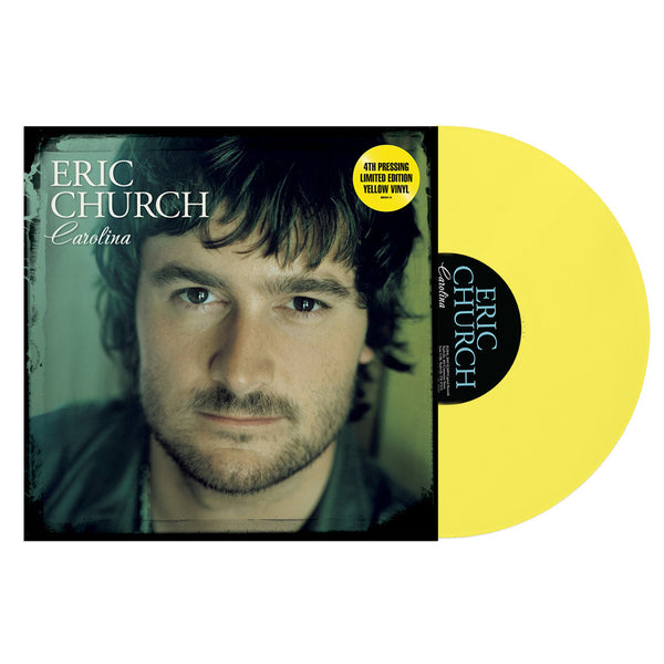 Eric Church- Carolina (Yellow Vinyl)