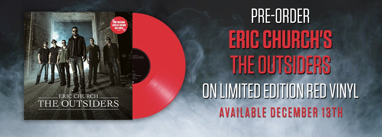 Eric Church - The Outsiders Red Vinyl
