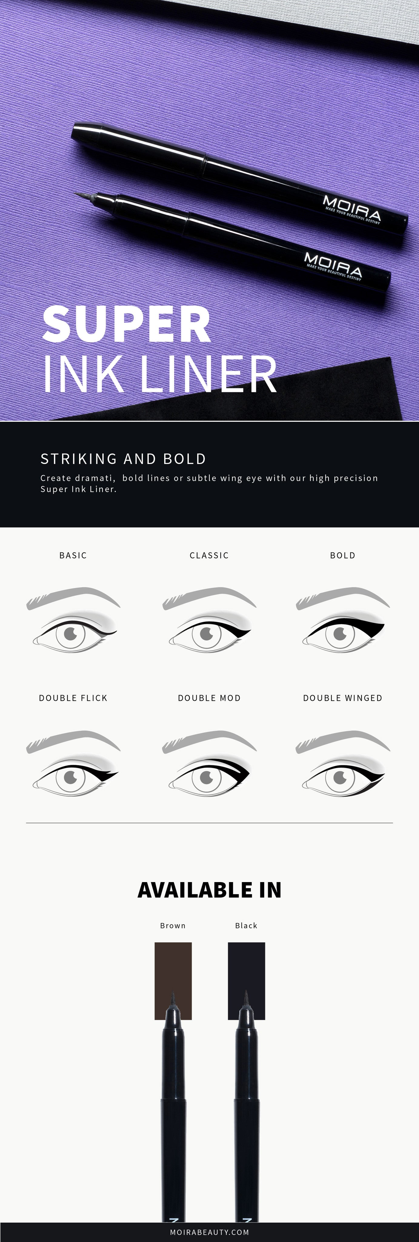 Moira Cosmetics Super Ink Liner