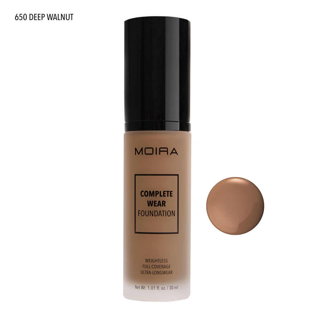 COMPLETE WEAR FOUNDATION - 650 Deep Walnut