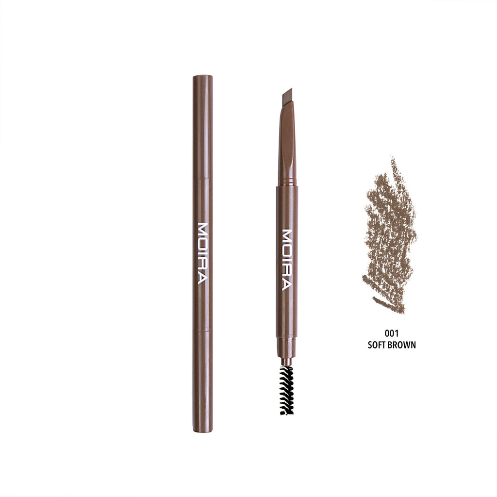 DUAL BROW PENCIL - 001 Soft Brown