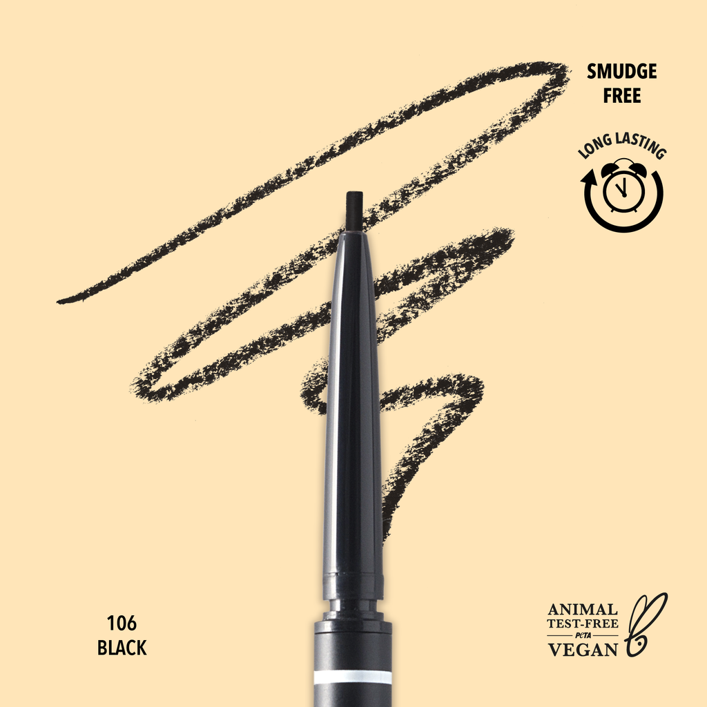 FINE BROW PENCIL - 106 Black