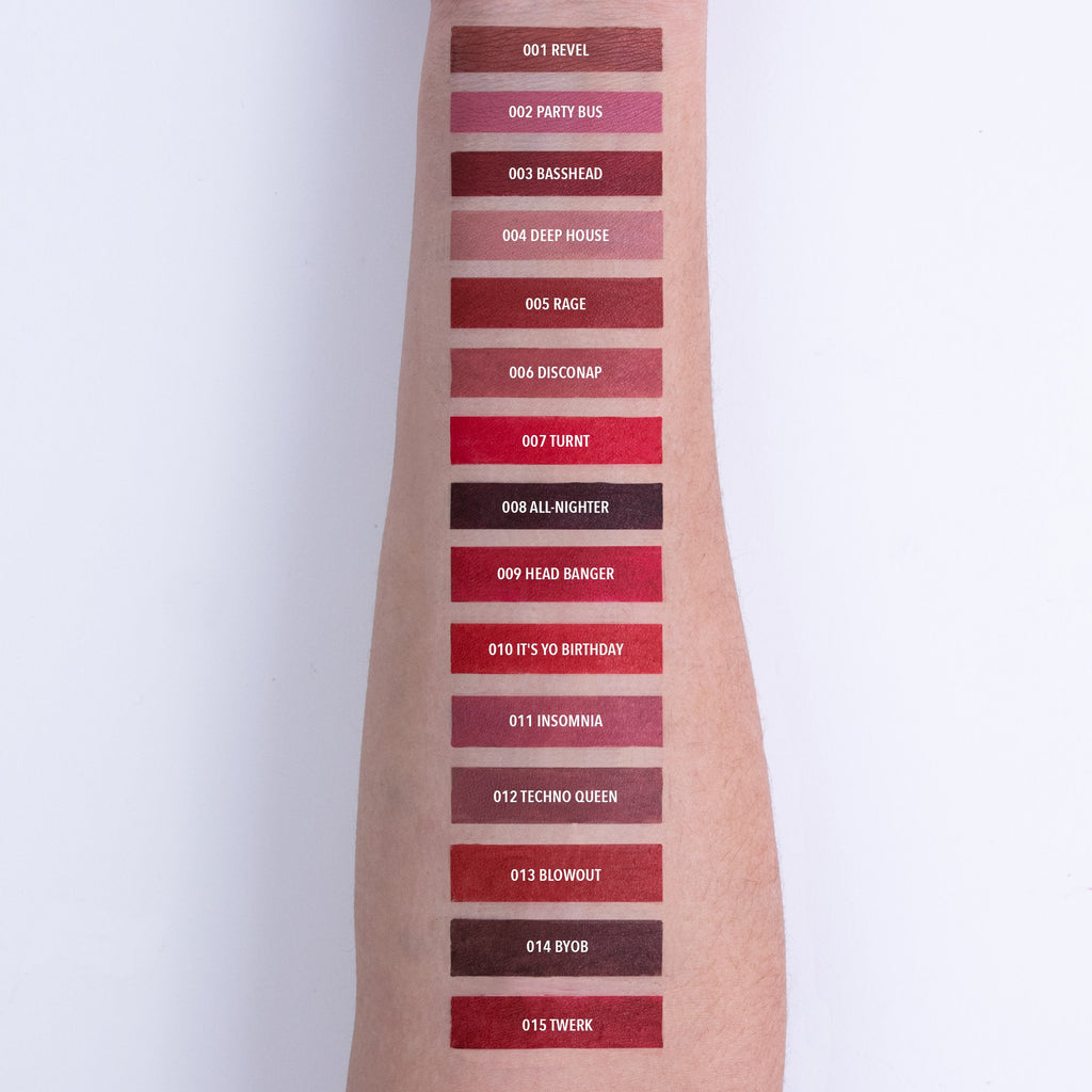 Deep House - AFTERPARTY MATTE LIPS