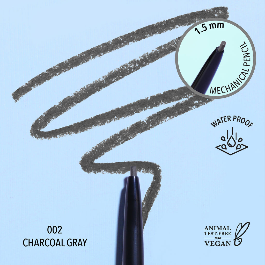 1.5MM UNDENIABLE GEL LINER- 002 Charcoal Gray