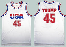 Donald Trump 45 USA Basketball Jersey Commemorative Edition