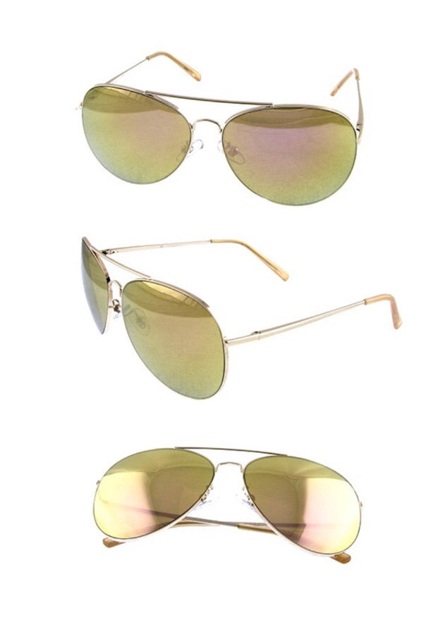 Kami Aviator Sunglasses