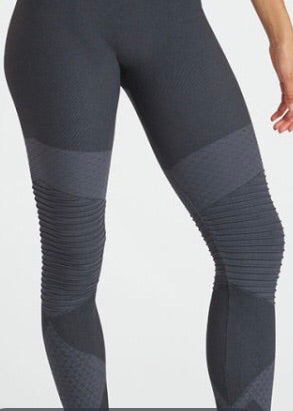 Look at Me Now Seamless Moto Leggings