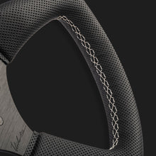 The Leggera 350 - Perforated Leather + White Cross Stitch