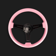 The Nathan 350 - Gloss Pink + Satin Black Spoke