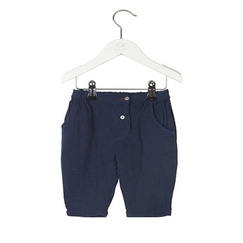 Noa Noa - Trousers (Dress Blue) - Noa Noa Baby - Felie.dk