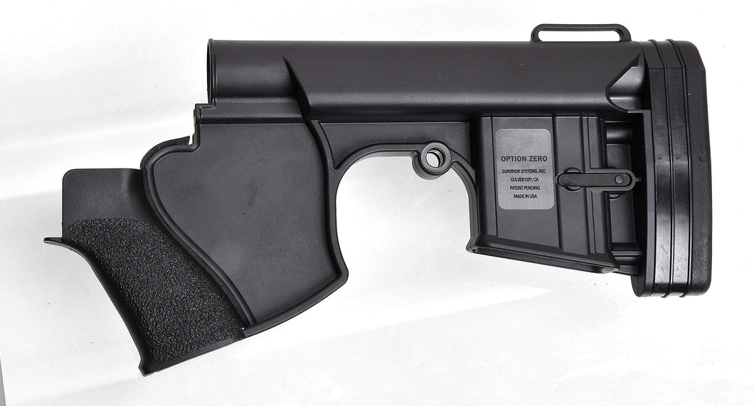 Option Zero CA Compliant Stock (Black)