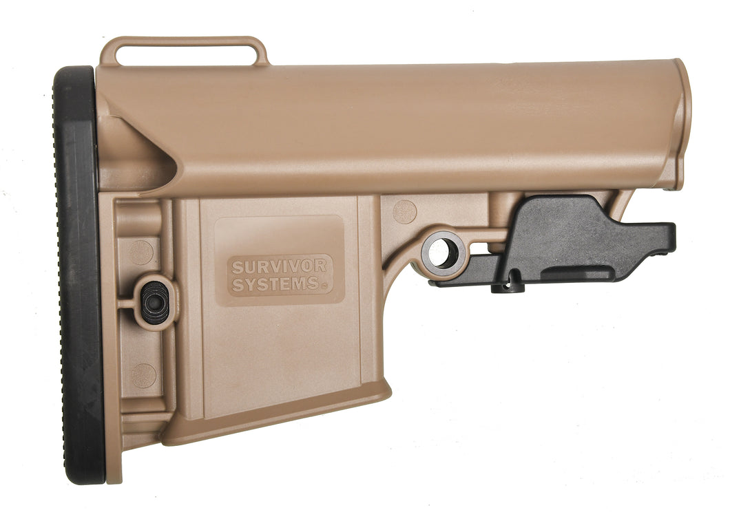 PROFESSIONAL COLLAPSIBLE STOCK (FLAT DARK EARTH)