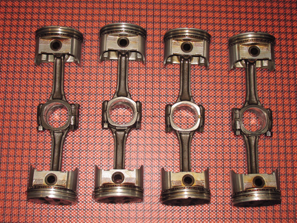 85 Chevrolet Corvette OEM Engine Piston & Piston Rod Set
