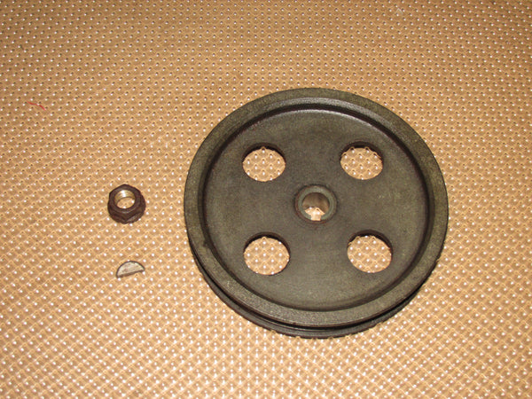 89 90 91 92 Toyota Supra Turbo OEM Power Steering Pump Pulley - 7MGTE