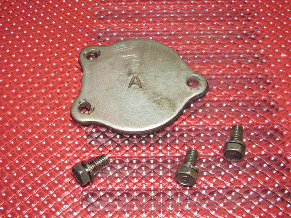 84 85 86 Nissan 300zx OEM Engine Cylinder Head Rear Cover - Left
