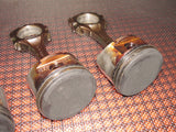 1991-1994 Nissan 240SX OEM Engine Piston Set - DOHC