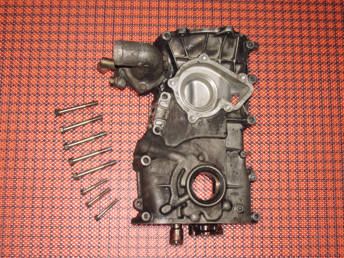 1991-1994 Nissan 240SX OEM Engine Front Cover - Water Pump Housing