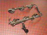 1990-1994 Nissan 300zx Twin Turbo OEM Fuel Injector And Fuel Rail