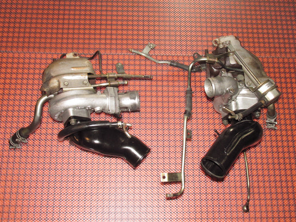 1990-1996 Nissan 300zx Twin Turbo OEM Garrett Turbocharger M24 A/R48 - Set