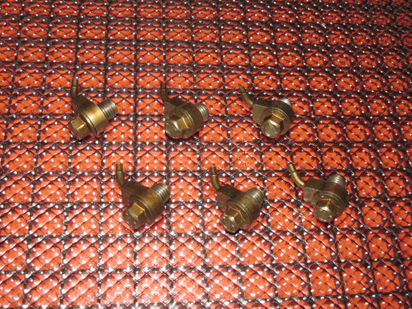 1989-1992 Toyota Supra OEM Turbo Engine Piston Squirter Nozzle - Set