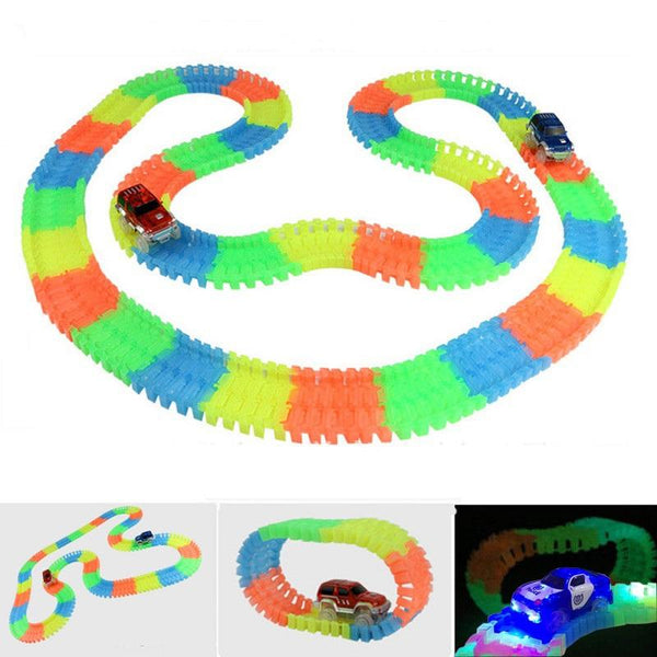 Magic Glowing Race Track Set