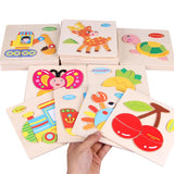 Kids Wooden Puzzle - Educational Toy