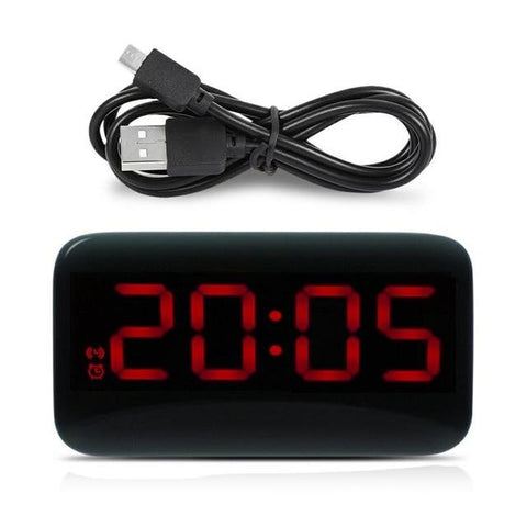 Led Alarm Clock - Voice Controlled Clock