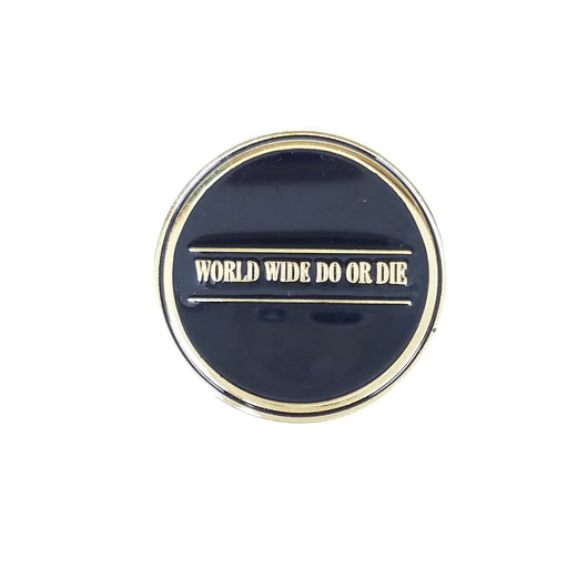 WorldWide Travel Gold Pin
