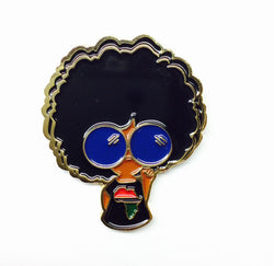 Revolutionary Girl Gold Pin