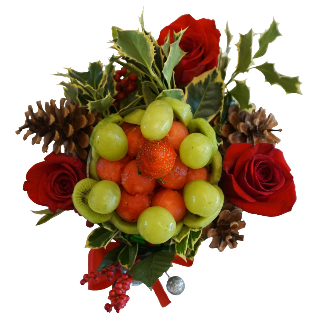 Fruity Merry Flower Fruit Arrangement