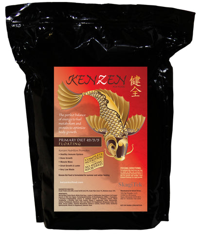 Kenzen Koi food 10 pound bag