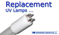 Emperor Aquatic UV Lamp Replacements (Includes 2 lamps plus Free Shipping)