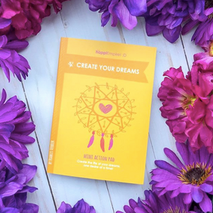 Create Your Dreams Manifestation Notebook by The Happi Empire