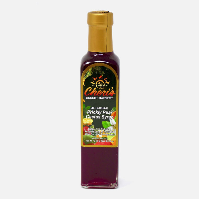 Prickly Pear Cactus Syrup 12oz - Desert Gatherings