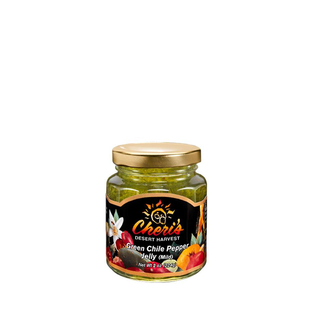 Green Chili Pepper Jelly 2oz - Desert Gatherings
