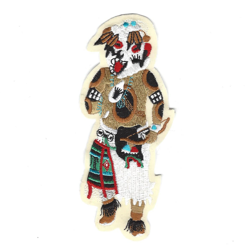 Hon Bear Sew-On Kachina Patch