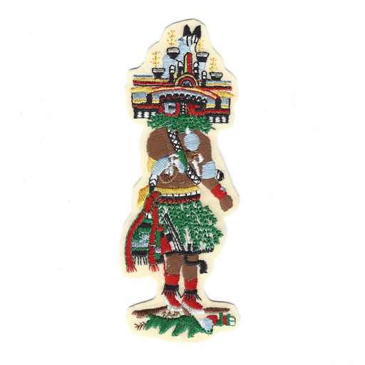 Hemis Sew-On Kachina Patch - Desert Gatherings