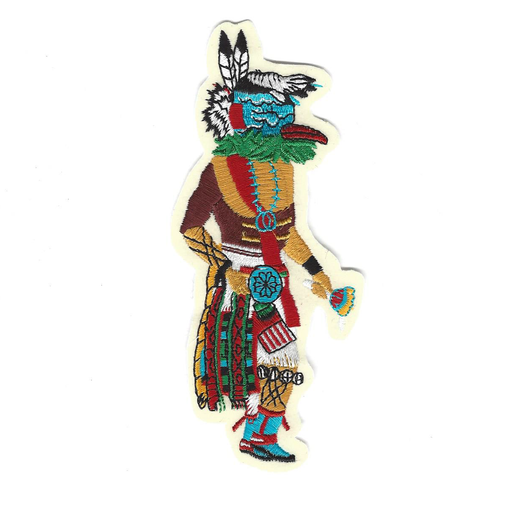 Hospoa Roadrunner Sew-On Kachina Patch
